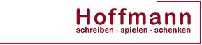Logo Hoffmann schreiben - spielen - schenken